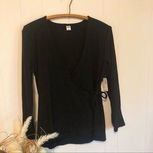 NWT Old Navy Wrap Top Size Large
